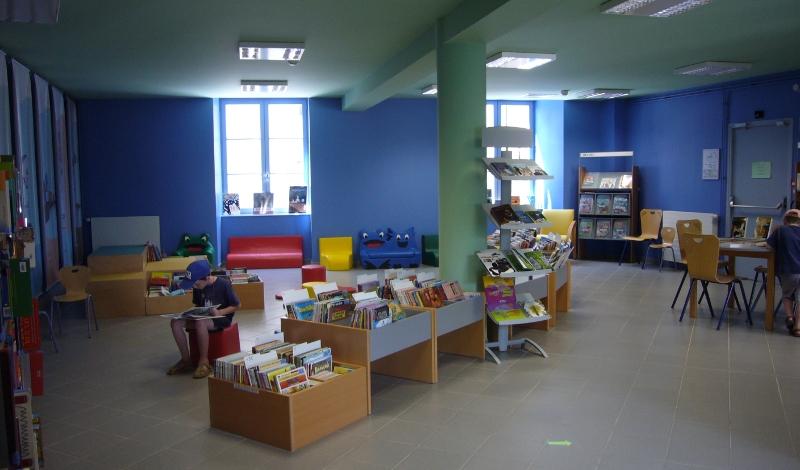Bibliothèque de Besse - salle jeunesse