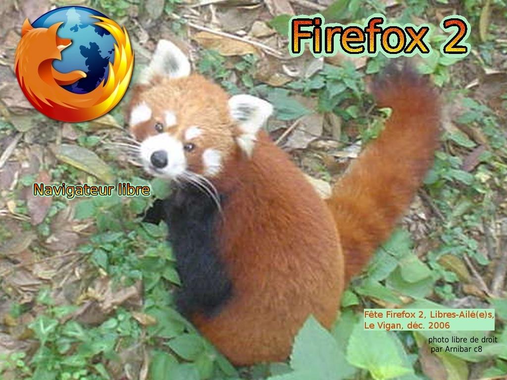 Firefox, petit panda rouge1@Libres-Ailé(e)s, CC-By-SA