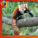 Firefox, petit panda rouge2@Libres-Ailé(e)s, CC-By-SA