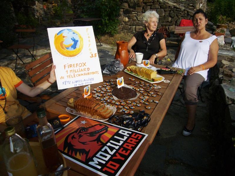 3.Table de fête pour le milliard de Firefox