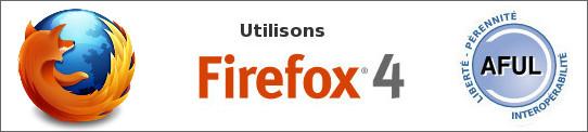 Logo Firefox 4 - AFUL