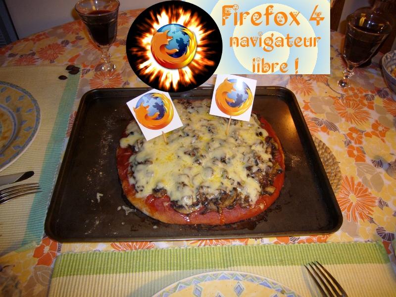 Pizza Firefox 4