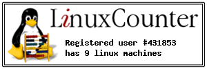 Badge Linux-Counter
