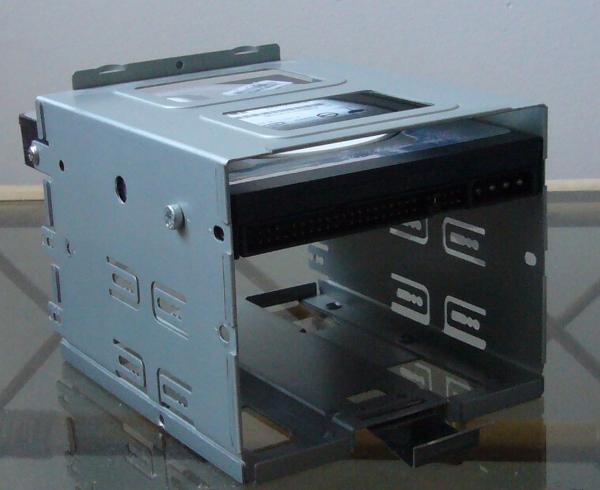 Cage amovible pour le disque dur