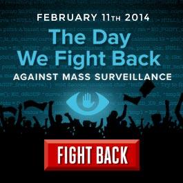 Logo de l'insurrection contre la surveillance massive