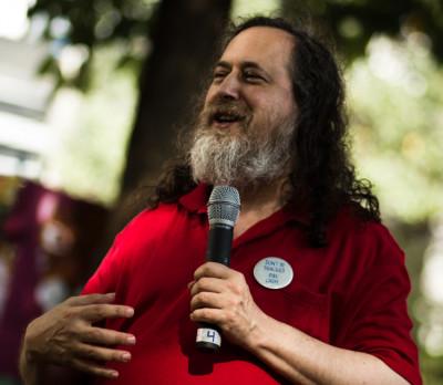 Richard Stallman fin 2012, Wikimedia