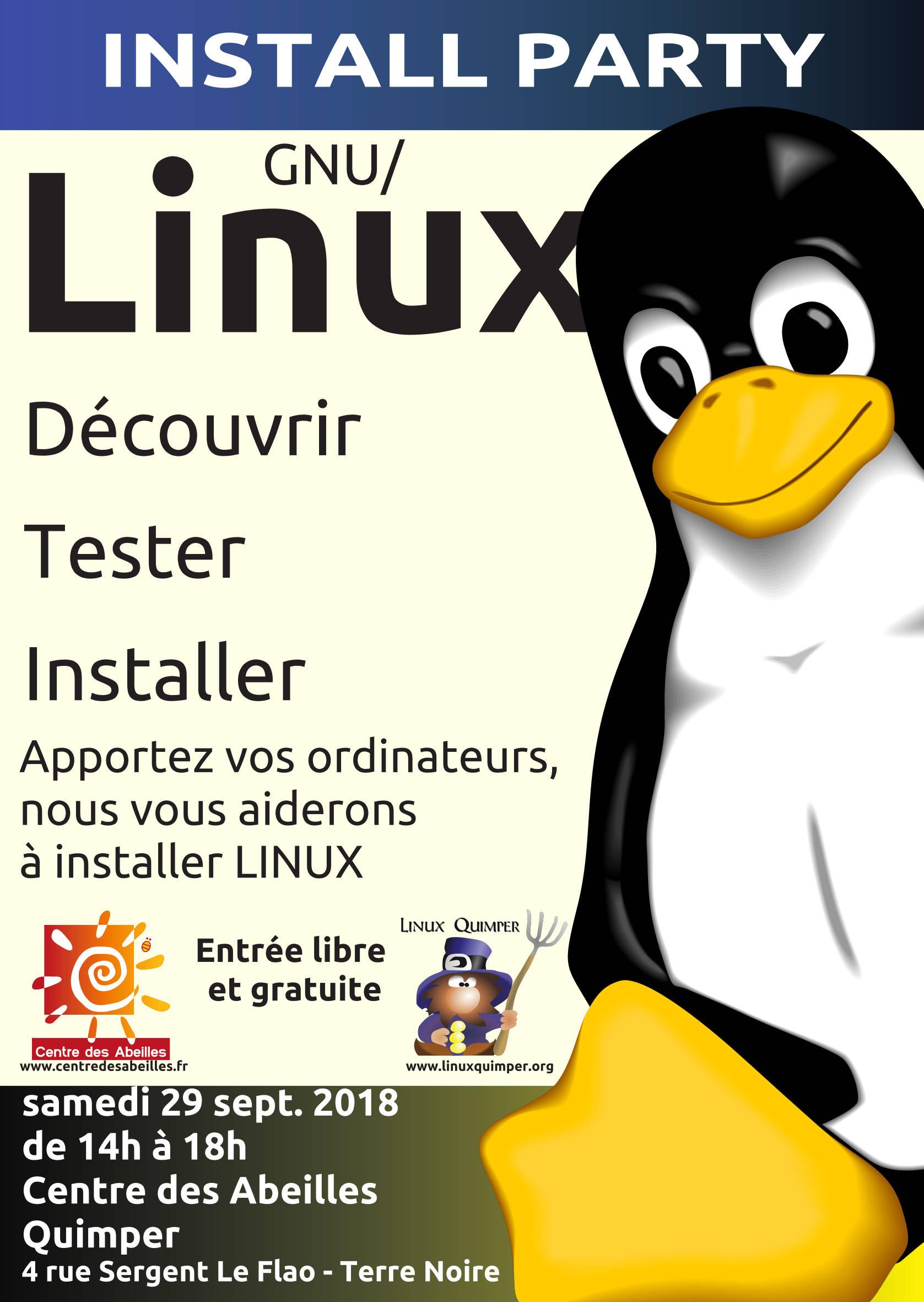 Linux Quimper