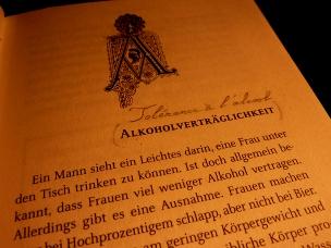 Chap. I : Tolérance à l'alcool