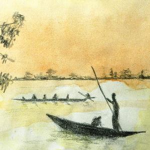 Debout sur le fleuve
