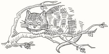 Parkinson dessine un chat