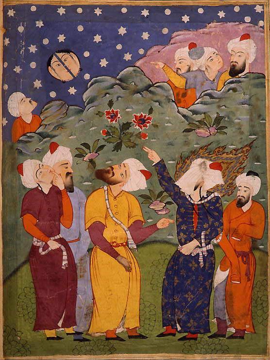 Mahomet, art persan, Dresde