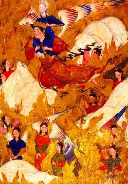 Mahomet, art persan, Topkapi