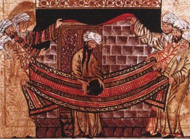 Mahomet, art mongol