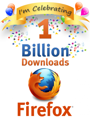 Vignette fete 1billion Firefox