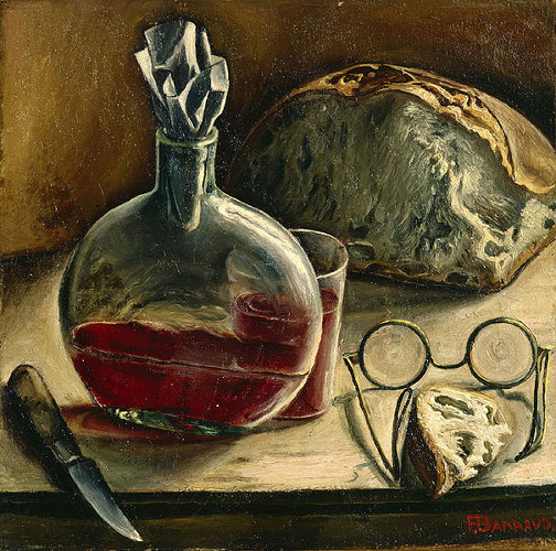 Nature morte F. Barraud