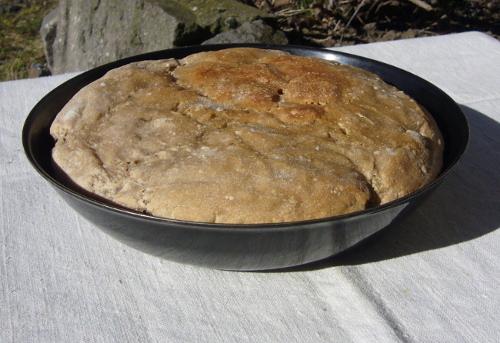 pain dans sa poêle