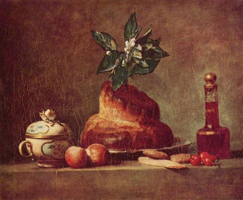 Chardin - brioche