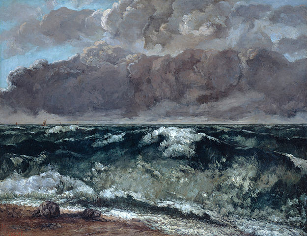Courbet - La vague