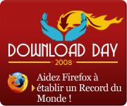 Journée mondiale de téléchargement de Firefox 3