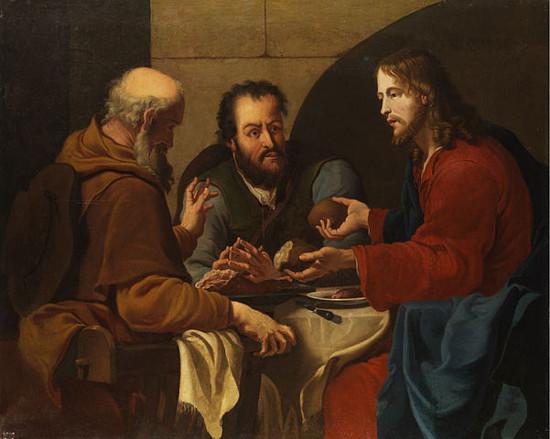 Le repas d'Emmaus