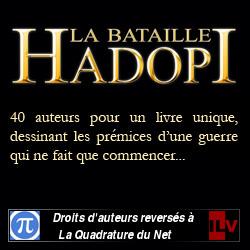 Promotion du livre <cite>La Bataille Hadopi</cite>