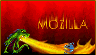 Mozilla détruisant IE par le feu