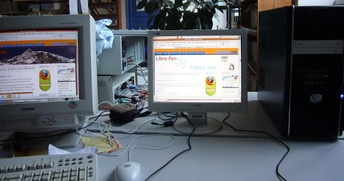 SliTaz et Ubuntu avec Firefox 3.5