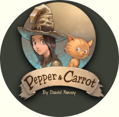 Pepper&Carrot, logo