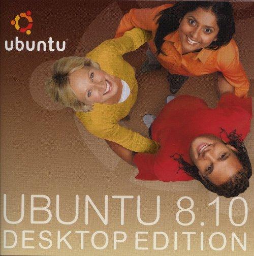 Jaquette Ubuntu 8.10