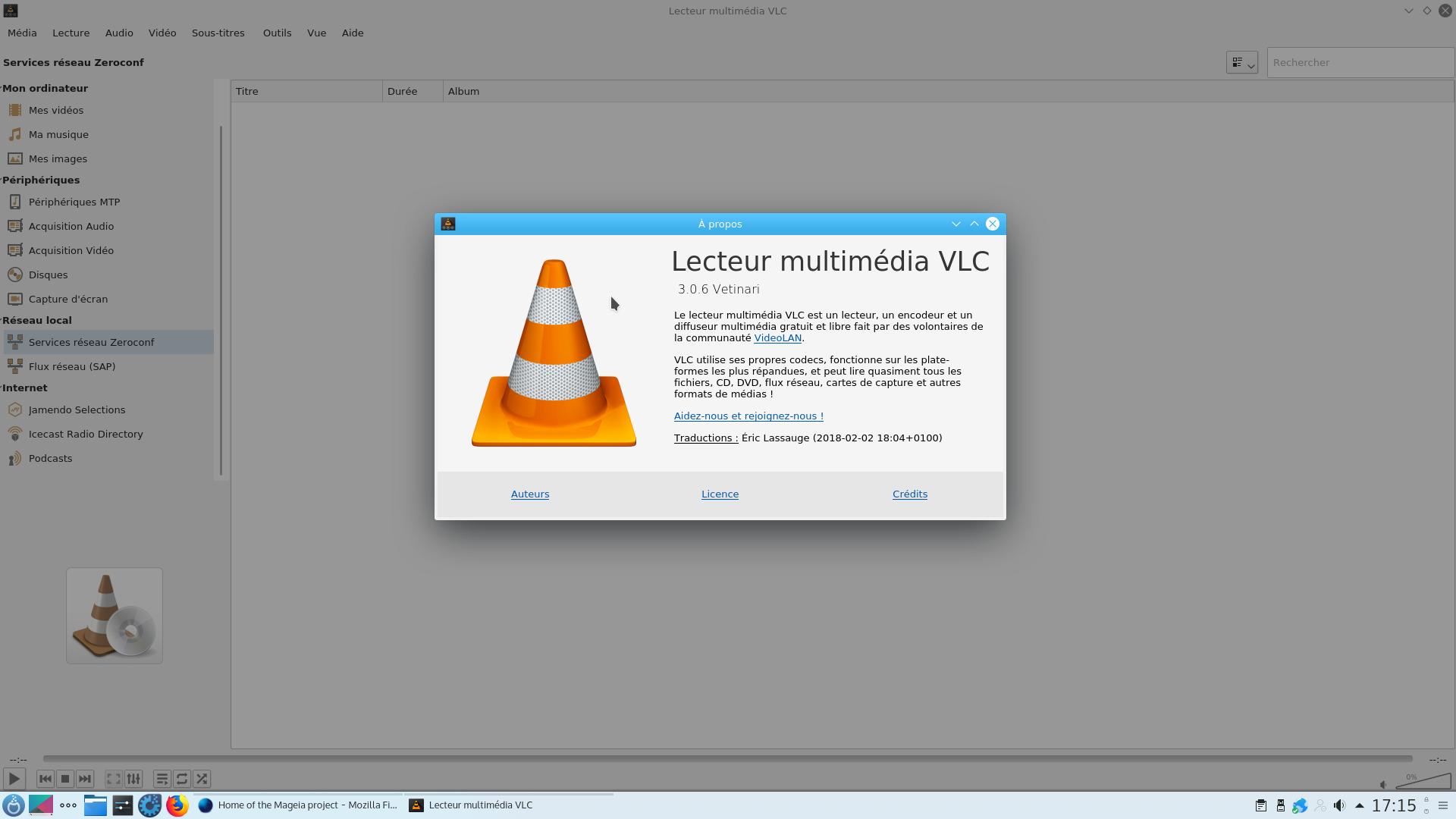 aperçu de VLC