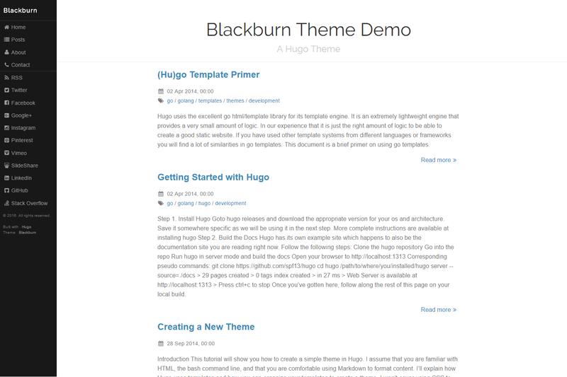 blackburn theme