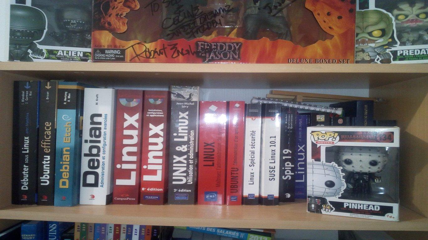 mes livres linux