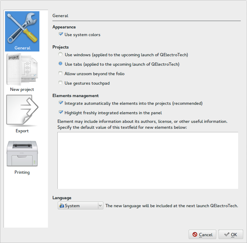 qelectrotech windows 7 32bit