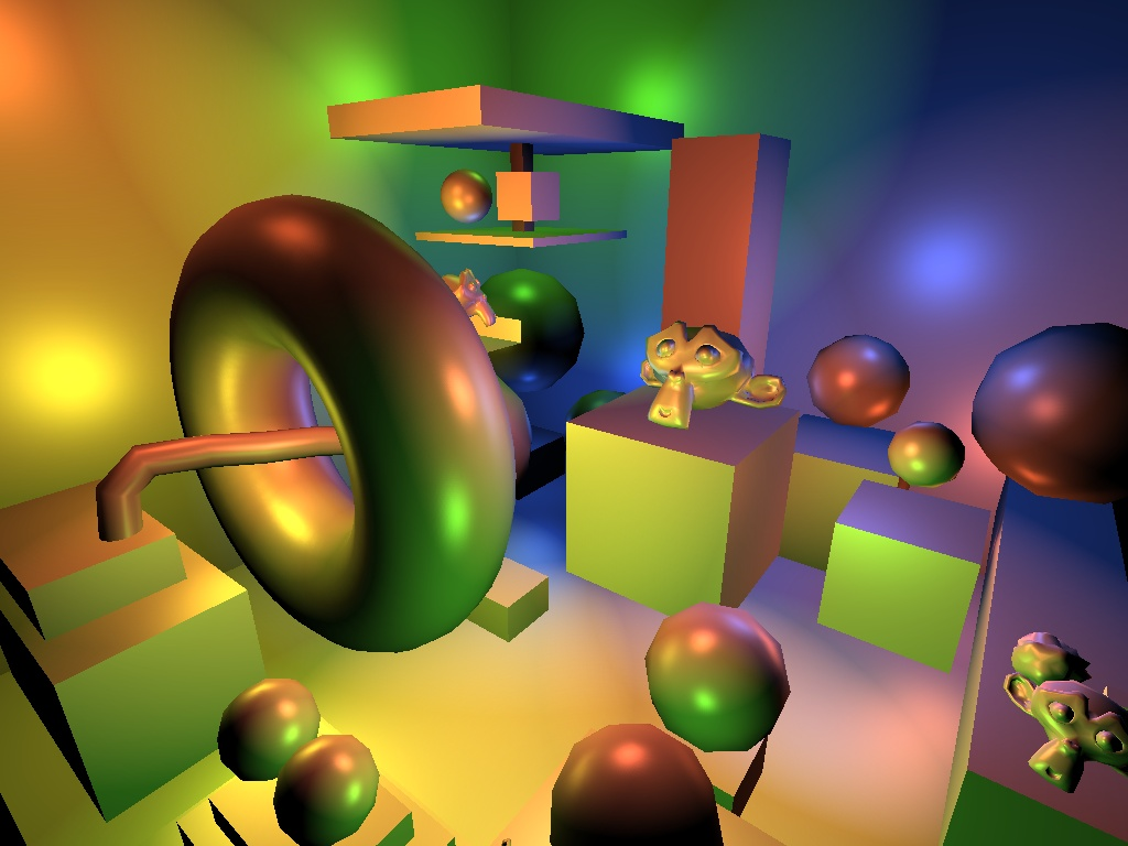 Deferred shading + specular