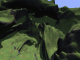 Shadowed terrain using the deferred renderer