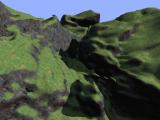 Shadowed terrain using the deferred renderer