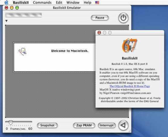 Basilisk II - Le Bottin des Jeux Linux
