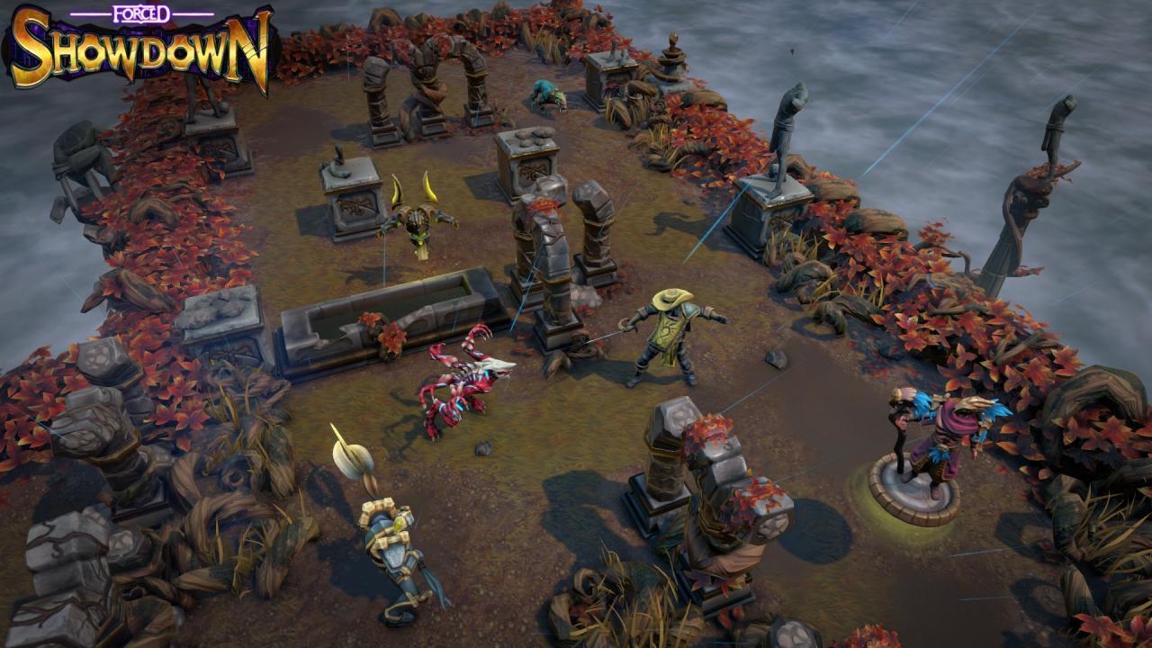 Forced Showdown Gameplay forced showdown - le bottin des jeux linux