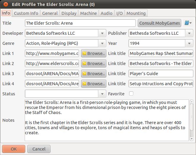 DBGL - Le Bottin des Jeux Linux