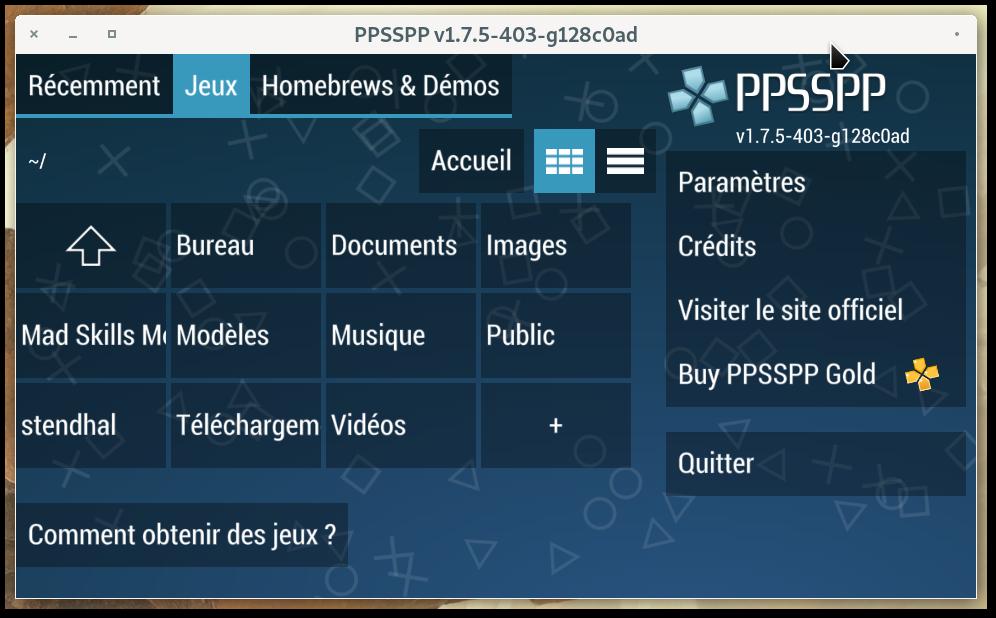 Ppsspp Le Bottin Des Jeux Linux