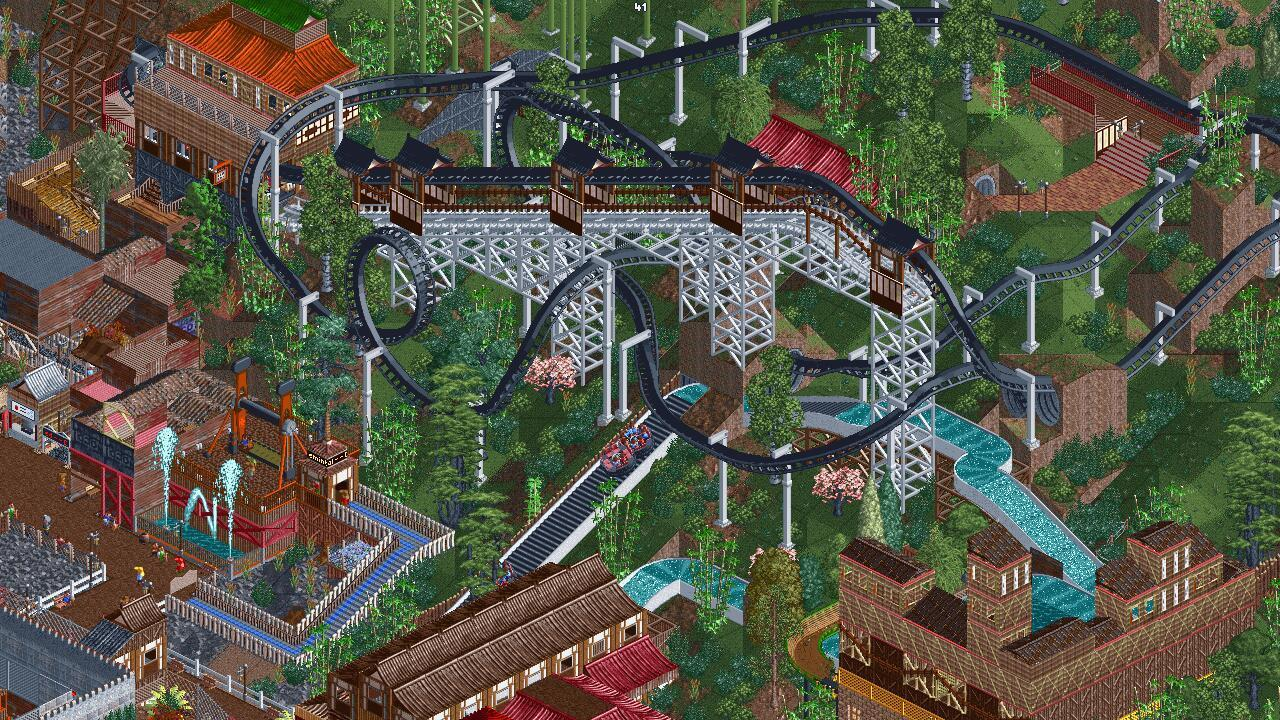 RollerCoaster Tycoon 2 (with OpenRCT2) - Le Bottin des Jeux