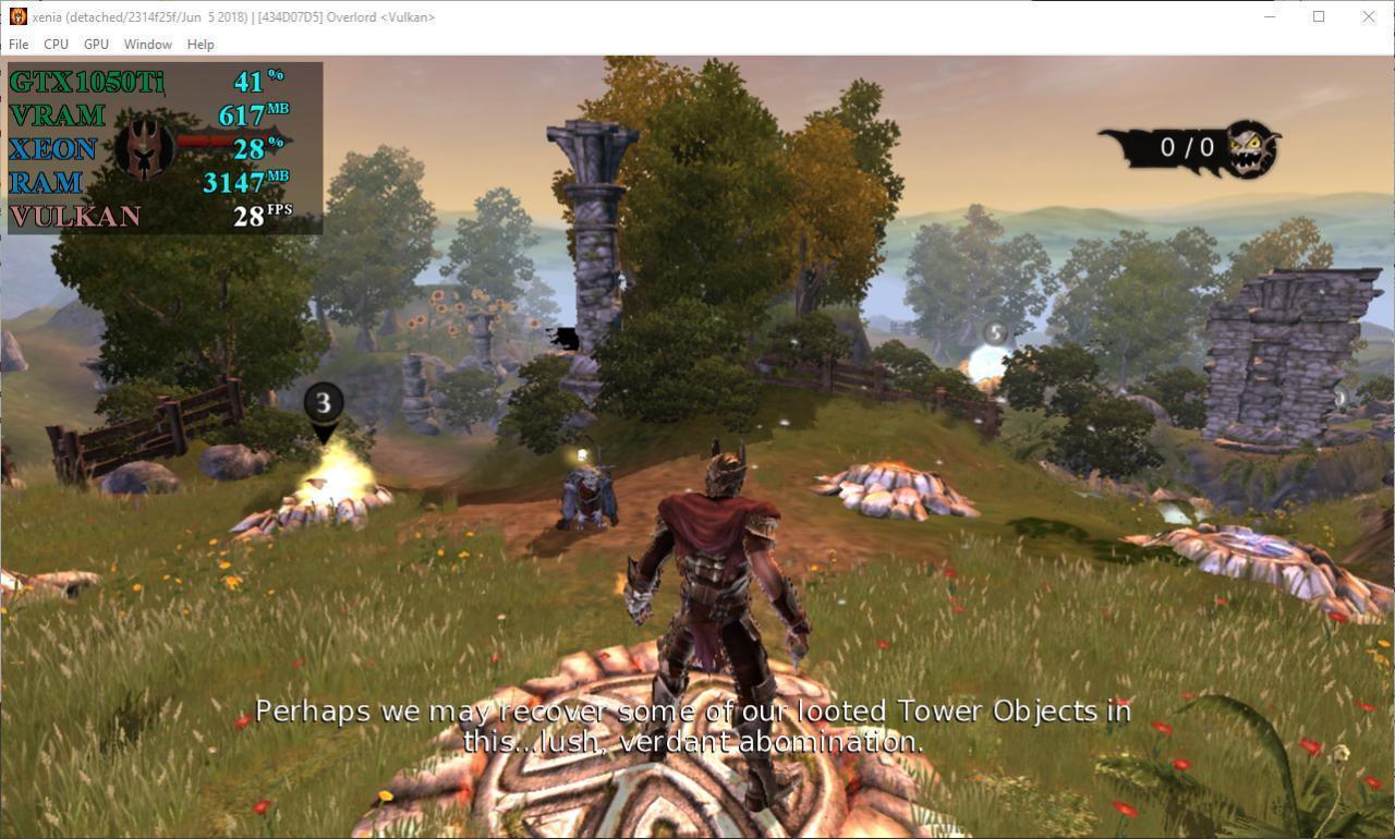 Xenia Emulator Games