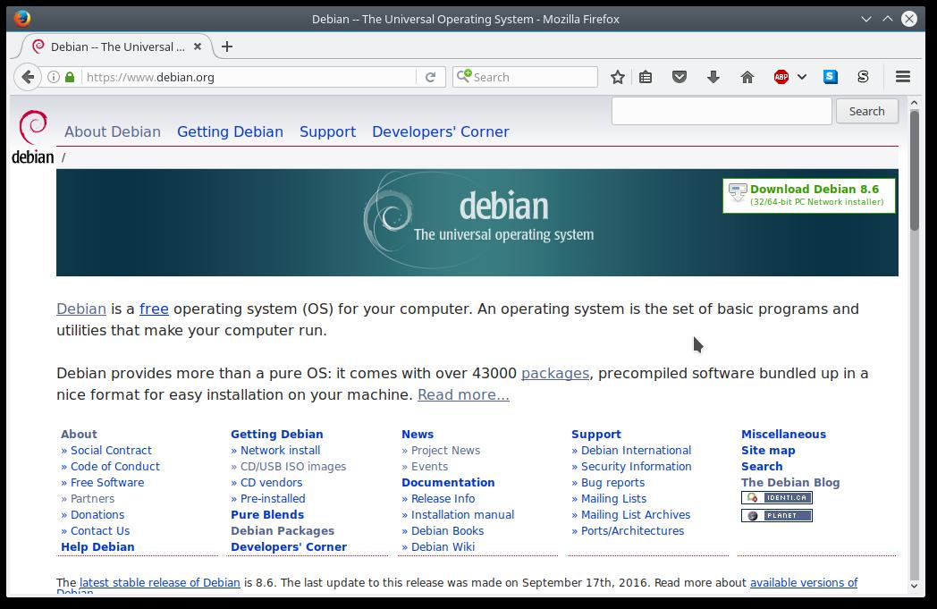 Debian 8 Download